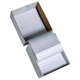 rillprint Computerpapier endlos, 380 mm x 12 (30,48 cm)