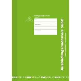 RNK Verlag Ausbildungsnachweis-Heft, täglich, DIN A4