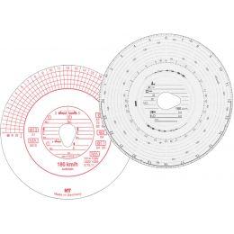 RNK Verlag Diagrammscheibe HAUG, 180 km/h, Automatik