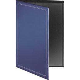 RNK Verlag Urkundenmappe, blau, mit Silberdruck