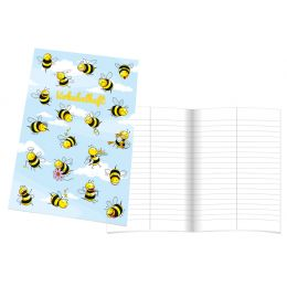 RNK Verlag Vokabelheft Crazy Bees, DIN A5, 2 Spalten