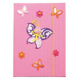 ROTH Zeichnungsmappen-Bastelset Schmetterling, DIN A3