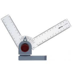 rotring Winkelzeichner, mit Rastschaltung nach je 15 Grad