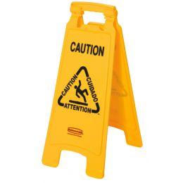 Rubbermaid Warnschild Caution Wet Floor, mehrsprachig