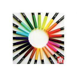 SAKURA Pinselstift Koi Coloring Brush, warmgrau dunkel