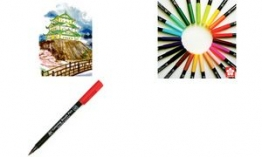 SAKURA Pinselstift Koi Coloring Brush Blender