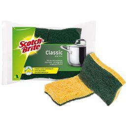 Scotch-Brite Cellulose-Schwamm Classic, Farbe: gelb/grün