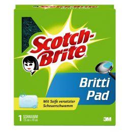 Scotch-Brite Scheuerschwamm Britti Pad, mit Seife