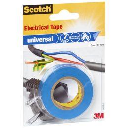 Scotch Isolierband universal, 15 mm x 10 m, blau