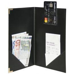 Securit Rechnungsmappe CLASSIC, schwarz