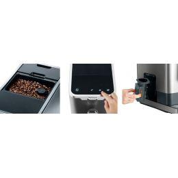 SEVERIN Kaffeevollautomat KV 8090, grau / metallic-schwarz