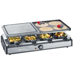 SEVERIN Raclette-Partygrill RG 2344, mit Naturgrillstein