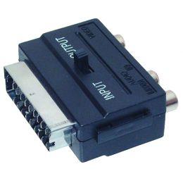shiverpeaks BASIC-S Adapter, Scartstecker - 3 x Cinch-