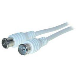 shiverpeaks BASIC-S Antennenkabel, 2,5 m, weiß