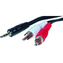 shiverpeaks BASIC-S Audiokabel, 2 x Cinchstecker -