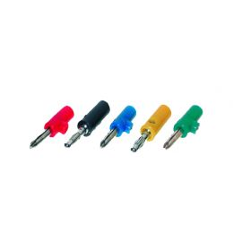 shiverpeaks BASIC-S Bananenstecker-Set, 5-teilig