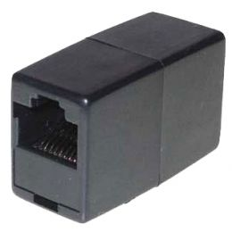 shiverpeaks BASIC-S Modular-IN-line Adapter, RJ45, schwarz