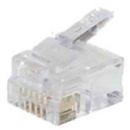 shiverpeaks BASIC-S Modular-Stecker RJ12, ungeschirmt