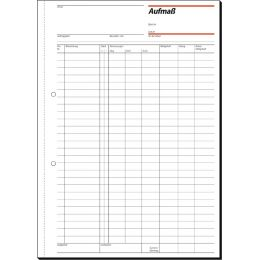 sigel Formularbuch Rapport/Tagesrapport, 105 x 200 mm, SD