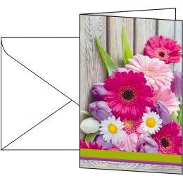 sigel Grußkarte Colorful, (B)115 x (H)170 mm