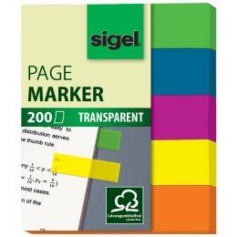 sigel Haftmarker Film mini, 50 x 12 mm, 200 Blatt