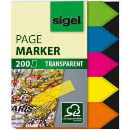 sigel Haftmarker Film Pfeil, 45 x 12 mm, 200 Blatt