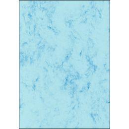 sigel Marmor-Papier, A4, Feinpapier, 90 g, grau