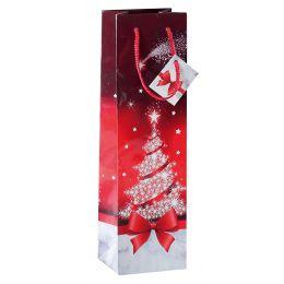 sigel Weihnachts-Flaschentüte Sparkling Tree