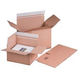 smartboxpro Blitzbodenkarton, (B)215 x (T)153 mm, SK, braun