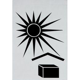 smartboxpro Hinweisetikett Vor Sonne/Hitze schützen
