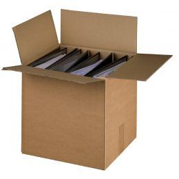 smartboxpro Ordner-Versandkarton, braun, für 4-5 Ordner