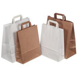 smartboxpro Papier-Tragetasche, 24 Liter, braun