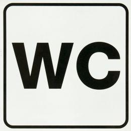smartboxpro Piktogramm-Etikett WC, 160 x 160 mm