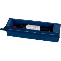 smartboxpro Wein-Präsentkarton, für 1 Flasche, saphirblau
