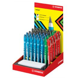 STABILO Tintenroller worker colorful, 40er Display