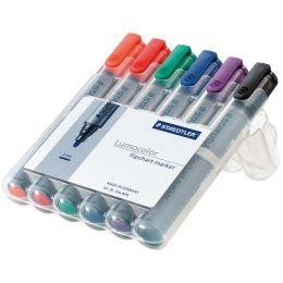 STAEDTLER Lumocolor Flipchart-Marker 356, 6er Etui