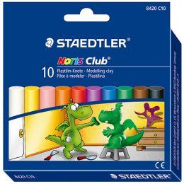STAEDTLER Plastilin-Knete Noris Club, 10er Kartonetui