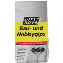 SUPER NOVA Bau- und Hobbygips, 1 kg