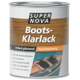 SUPER NOVA Boots-Klarlack, farblos, 2,5 Liter