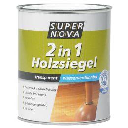 SUPER NOVA Holzsiegel 2in1 seidenmatt, farblos, 2,5 Liter