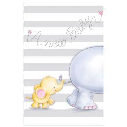 SUSY CARD Geburtskarte Babyelefant