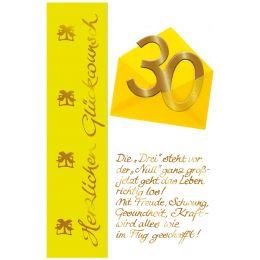 SUSY CARD Geburtstagskarte - 70. Geburtstag Briefumschlag