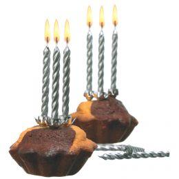 SUSY CARD Geburtstagskerzen, aus Wachs, Farbe: gold
