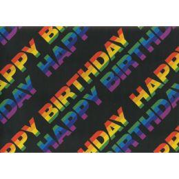 SUSY CARD Geschenkpapier Happy 2, auf Rolle