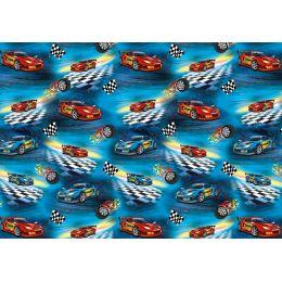 SUSY CARD Geschenkpapier Super Racer, auf Rolle