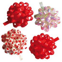 SUSY CARD Geschenkrosetten Herzen, Durchmesser: 35 mm