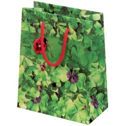 SUSY CARD Geschenktüte Glücksklee, groß