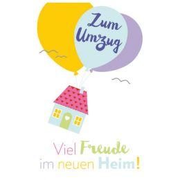 SUSY CARD Grußkarte - Ein/Umzug Haus