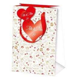 SUSY CARD Hochzeits-Geschenktüte Just married, klein