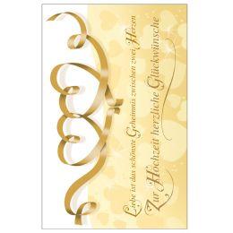 SUSY CARD Hochzeitskarte Herzenfond